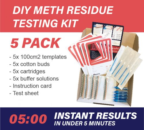 5 Pack DIY Meth Testing Kit