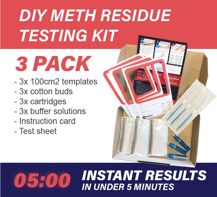 3 Pack DIY Meth Testing Kit