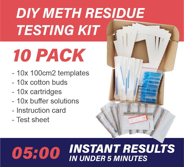 10 Pack DIY Meth Testing Kit