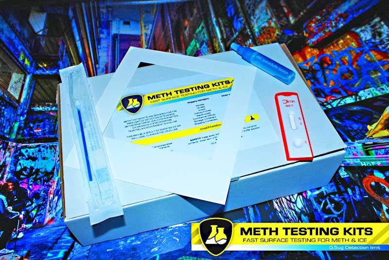 10 x DIY home meth residue tests