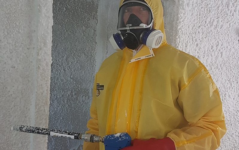ICE Drug Tester Technicians in a house